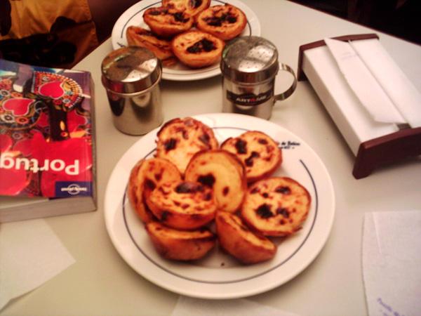 pasteis Portuguese temptations: Cakes in Lisbon