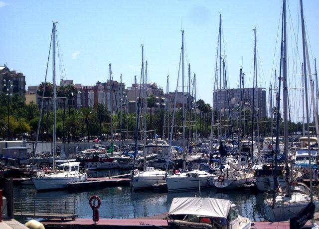 Skipping town: Barcelona