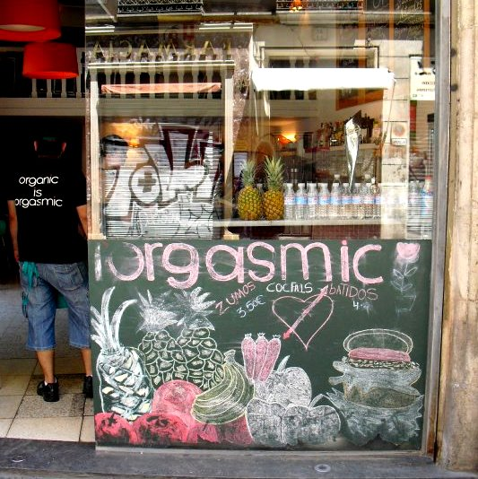 barcelona Restaurants we like: Orgasmic (Barcelona)