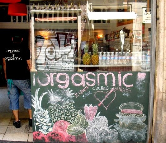 Restaurants we like: Orgasmic (Barcelona)