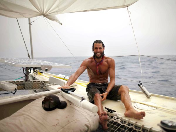 david de rothschild plastiki adventure 21632 600x450 Travel links of the week