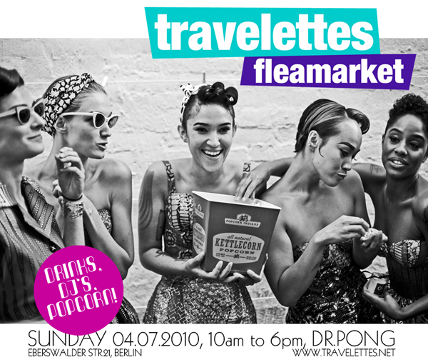 flyersmall Travelettes Fleamarket is TODAY!