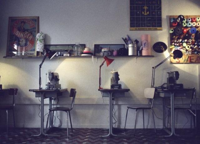 Paris: Café Couture