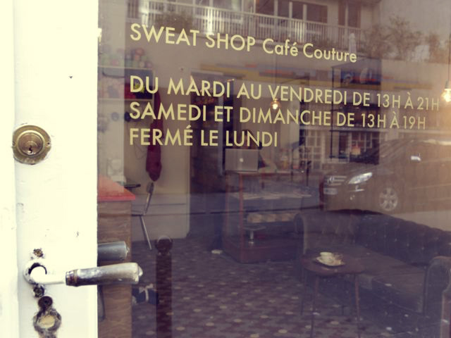 sweatshop09 Paris: Café Couture