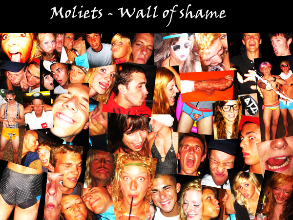 Wall of Shame 2 - France (Moliets)