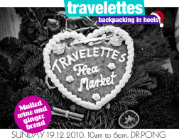 The Travelettes Christmas market is tomorrow