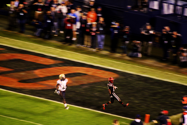 touchdown SDSU Aztec football