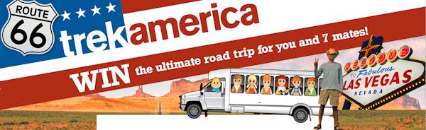 trekamerica  Win the ultimate American Roadtrip