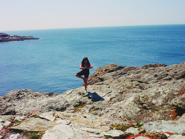 yoga Guest post by Michelle Belair: Beautiful Trearddur Bay