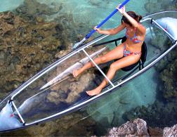 The see-through canoe