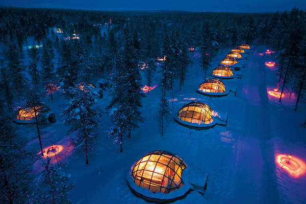 igloo village visitfinland Amazing Hotels   6 nights to remember
