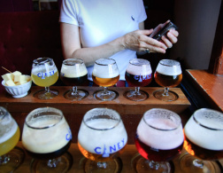 Finding beer in Brussels