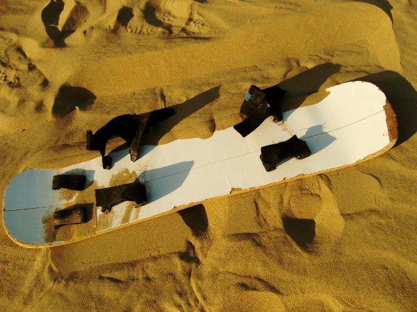 HUACA4 Sandboarding in the Desert