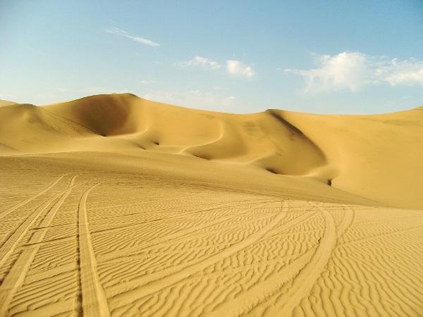 Huaca8 Sandboarding in the Desert