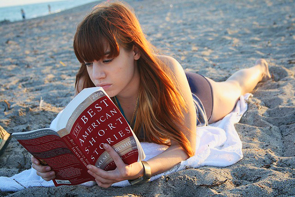 language beach reading Tips on finding the right language school