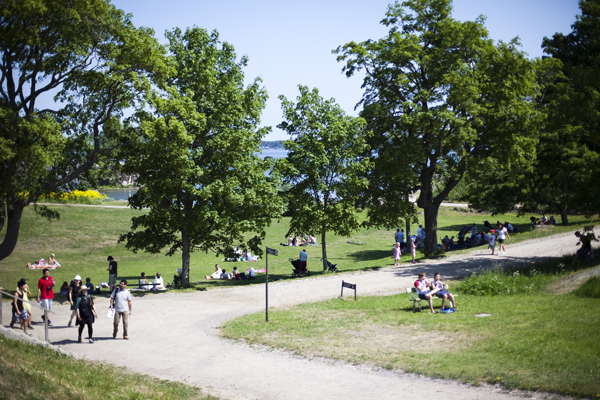picknick area suomenlinna Suomenlinna   island magic outside Helsinki