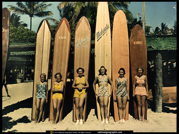 waikiki surf boards vintage The History of Surfing