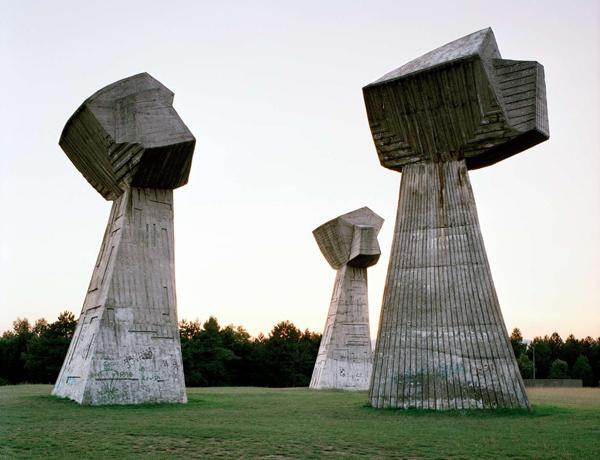 Abandoned Futuristic Monuments from former Yugoslavia