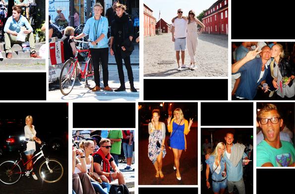 copenhagen travel collage Falling in love with Copenhagen