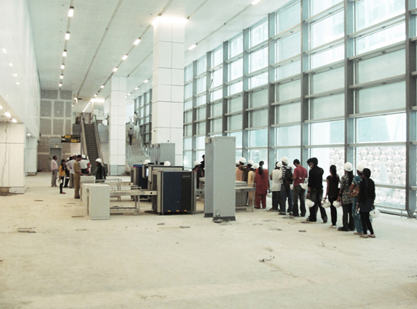delhi airport security Become a Tester for Berlins new International Aiport