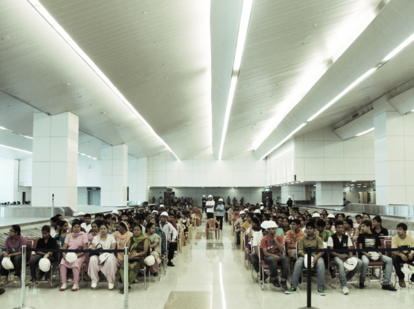 delhi airport volunteers Become a Tester for Berlins new International Aiport
