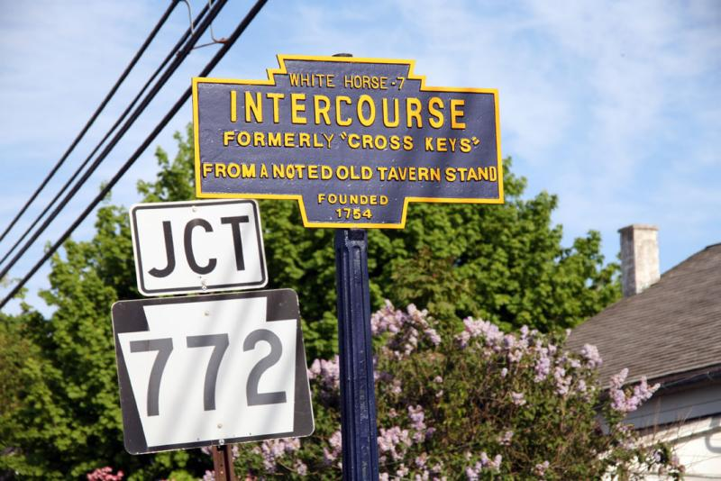 INTERCOURSE Funny Town Names From Around the World