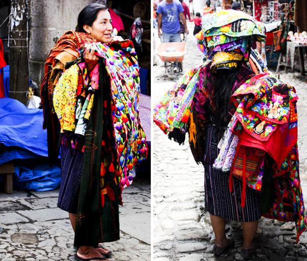 trav Chichicastenango Market Women Central Americas Biggest Market