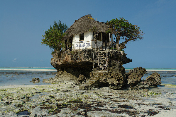 Rock Restaurant Zanzibar The Rock Restaurant