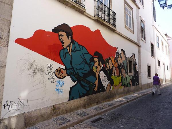 graffiti lisbon  Cutting edge street art in Lisbon