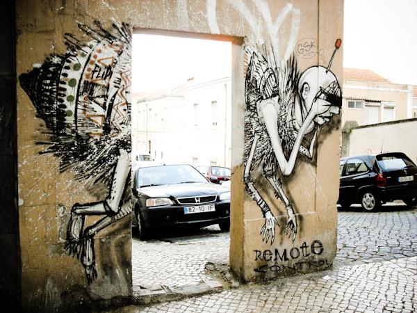 titanic 10293 Cutting edge street art in Lisbon