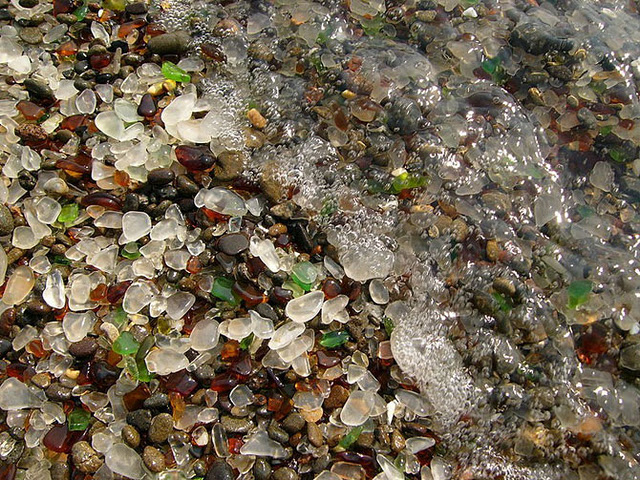 Glass Beach California 1 The Glass Beach: a recycled beauty
