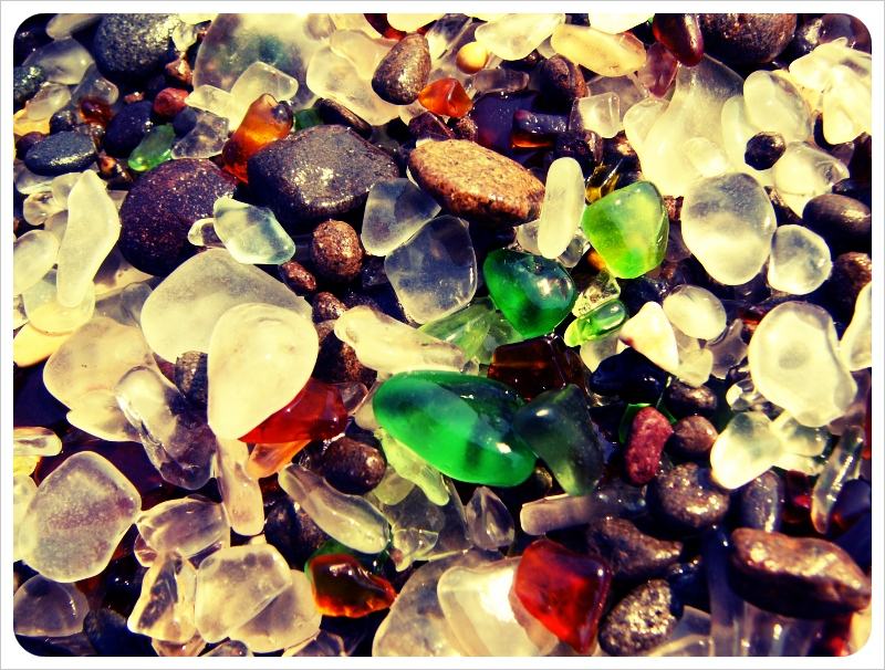 Glass Beach Fort Bragg 3 The Glass Beach: a recycled beauty