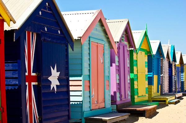 brighton beach australia 01 The Travelettes Guide to Melbourne