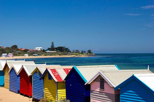 brighton beach australia 02 The Travelettes Guide to Melbourne
