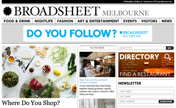 broadsheet The Travelettes Guide to Melbourne
