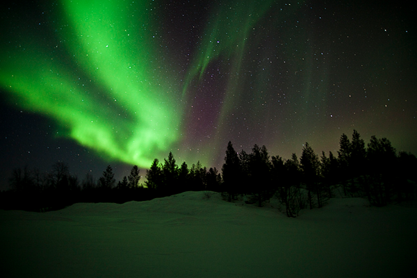 northern lights finland The Northern Lights: The ultimate light show