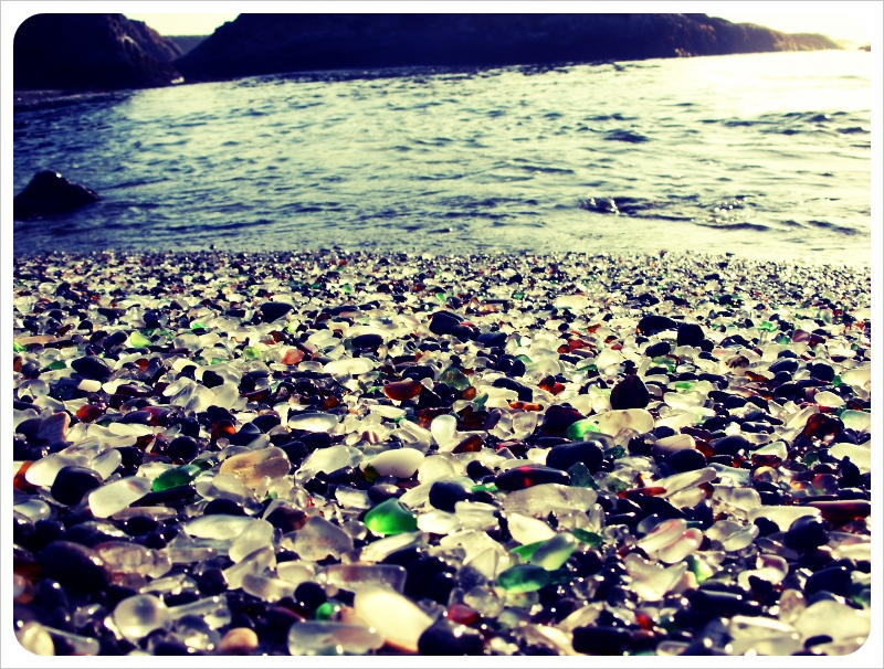 sjg photography.deviantart.com  The Glass Beach: a recycled beauty