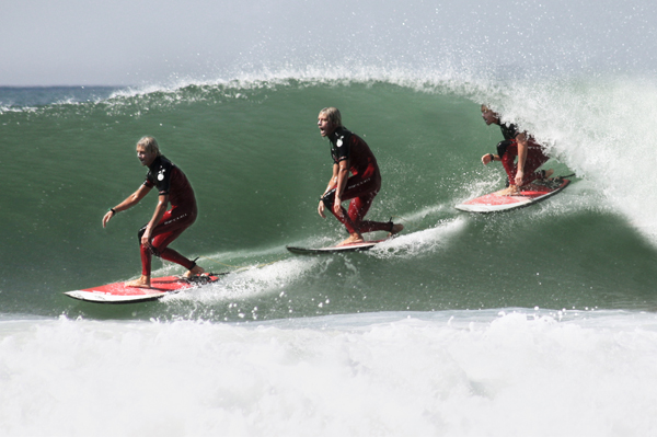 trav  Dale in the barrel 10 Great Surf Spots along the Atlantic Coast