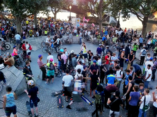 Critical Mass - Worldwide Social Biking Event