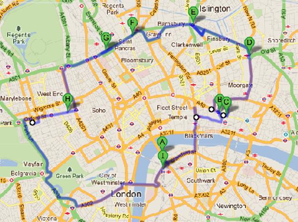 trav cycling route critical mass Critical Mass   Worldwide Social Biking Event