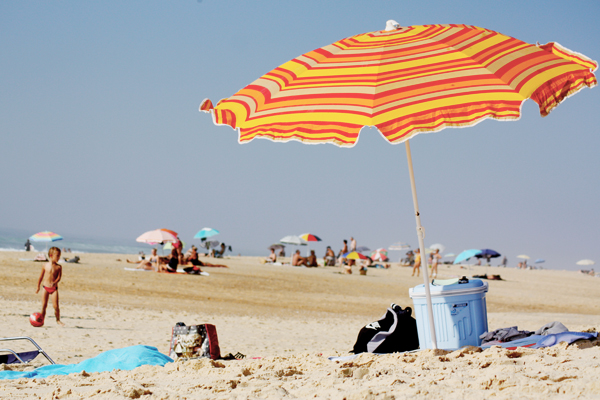 trav sun umbrella 10 Great Surf Spots along the Atlantic Coast