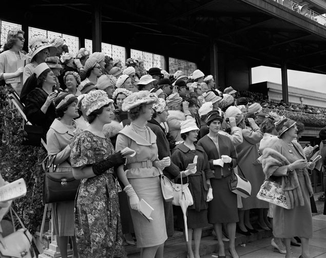 1960 Melbourne Cup Gallery Melbourne Cup Day   The Race That Stops A Nation