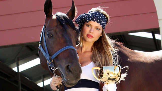 348469 sophie monk Melbourne Cup Day   The Race That Stops A Nation