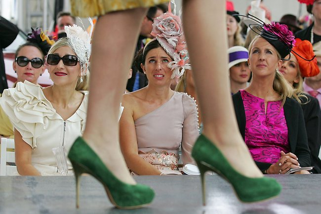 567318 melbourne cup fashions Melbourne Cup Day   The Race That Stops A Nation