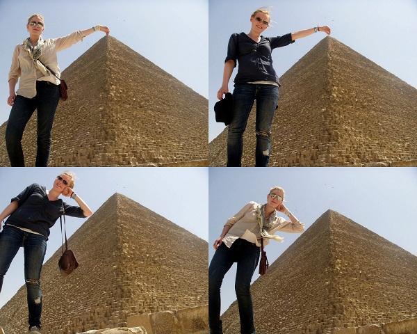EGYPT 2011 selection 1 Clichéd photo poses we should resist