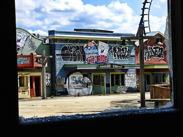 Sponge Bobs shattered dreams at defunct Six Flags Six Flags: Louisianas ghost town