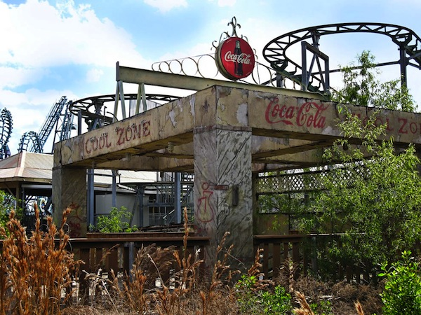 Zone of Cool no more at abandoned six flags New Orleans Six Flags: Louisianas ghost town