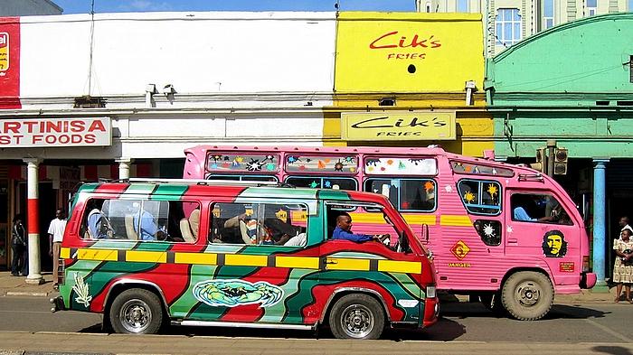 matatu2 Experiencing Kenya