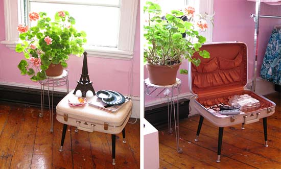 pinkwhitesuitcase1 DIY Sunday   when Travelettes do Christmas