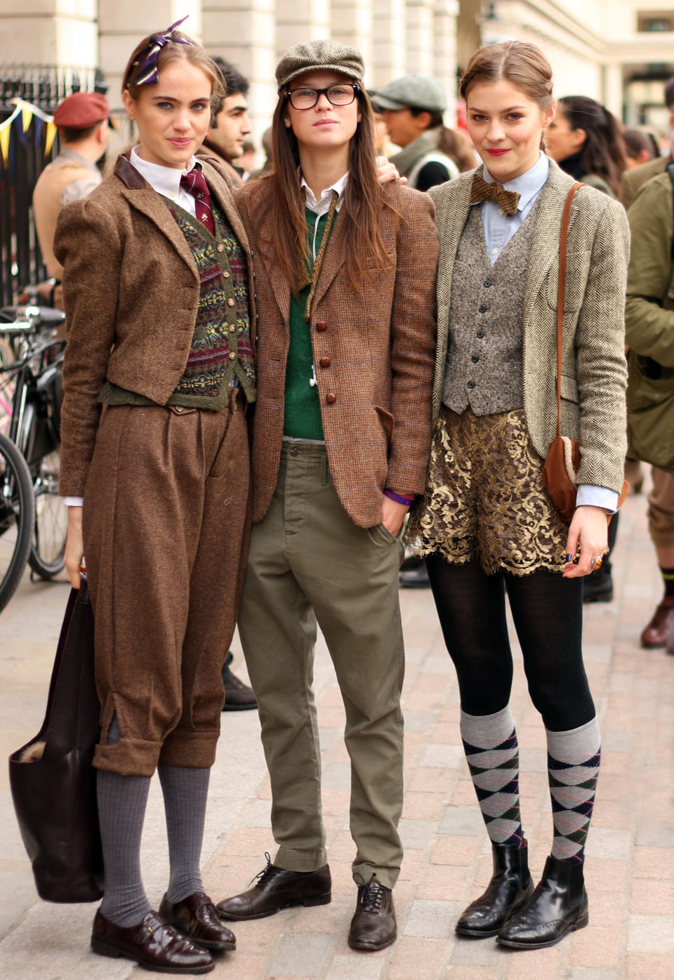 Travelettes Tweed Ride The World S Most Stylish Bike Ride
